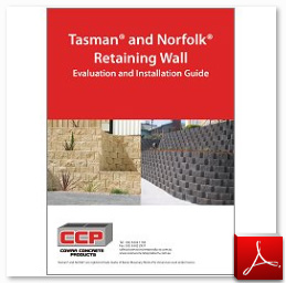 Tasman and Norfolk Retaining Wall