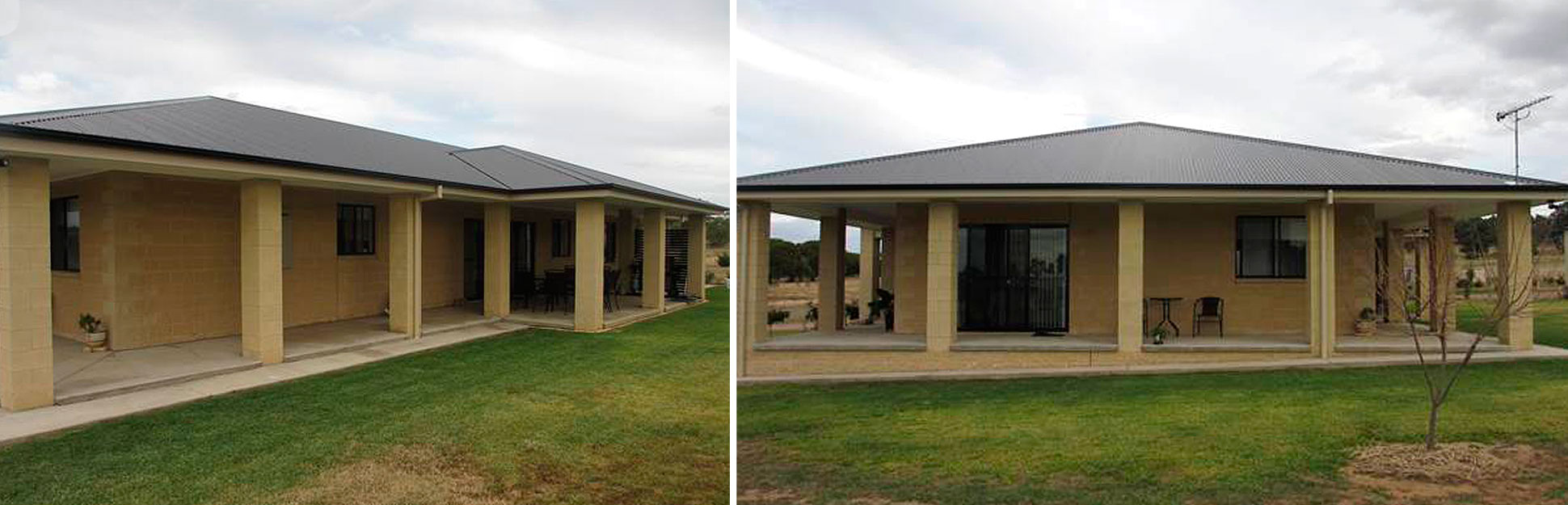 Grenfell Split Face Block Residence | Cowra Concrete Products
