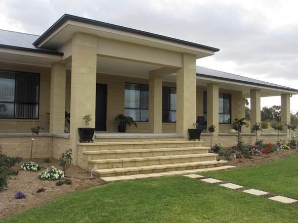 Grenfell Split Face Block Residence