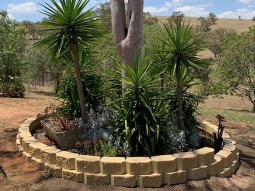Norfolk® Tree Ring and Retaining Wall Planter