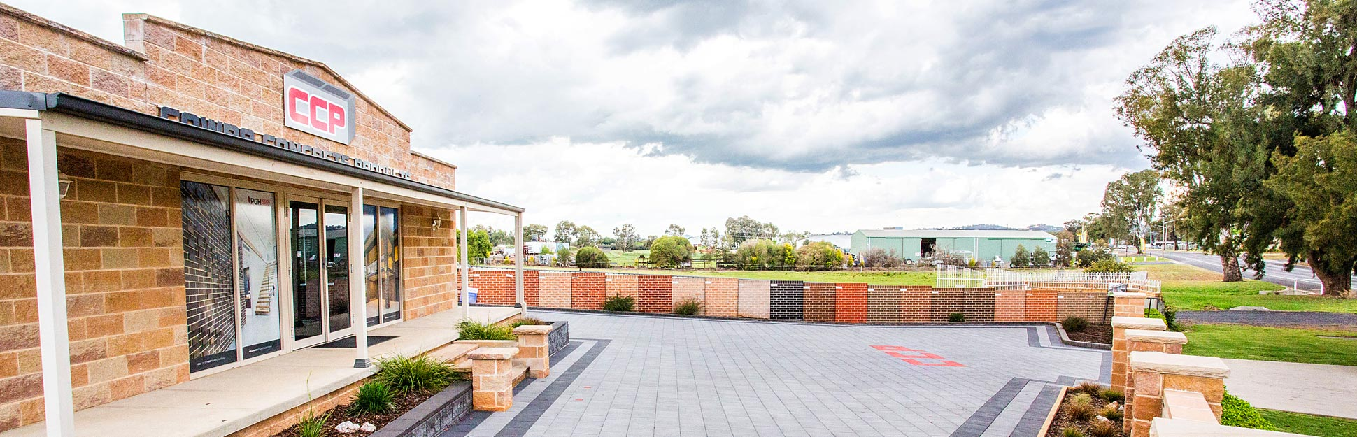 Cowra Concrete Products head office and showroom for quality concrete masonry