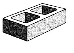 grey block 20.71 half high