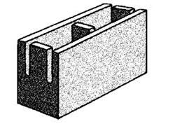 grey block 15.20 knock-out bond beam