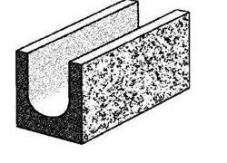 20.112 bond beam split face block