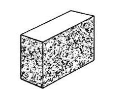 10.139 Solid - three quarter split face block