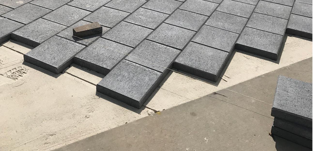 cowra concrete products headquarters paving
