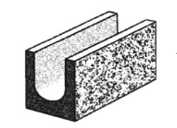 split face series 20.121 lintel
