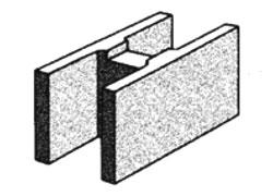 grey block 20.48 'H' block