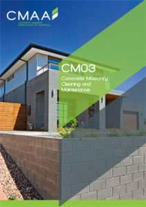 Concrete Masonry Cleaning and Maintenance