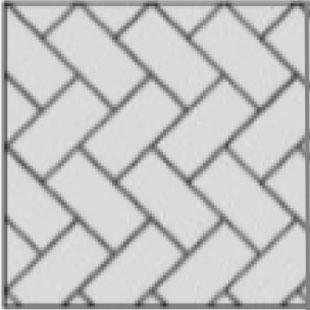 herringbone 45 paver layout