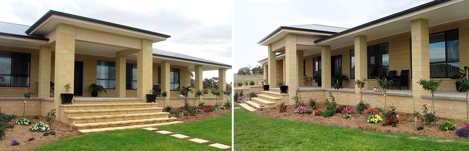 cowra concrete products masonry block residence