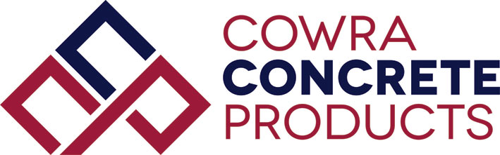 cowra concrete products logo